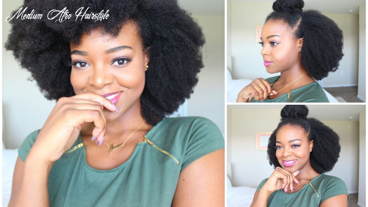 10 simple natural hairstyles for beginners! – naturall club medium afro hairstyle