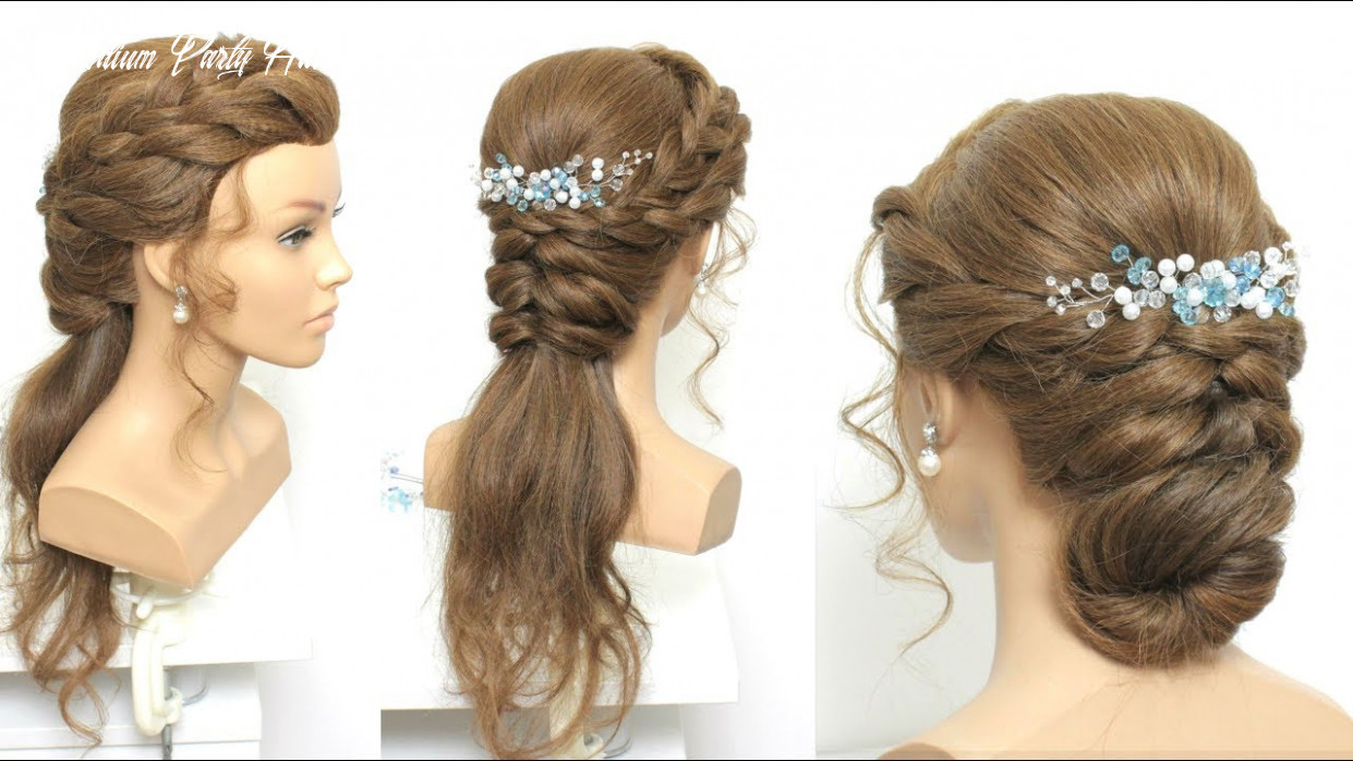 10 simple party hairstyles for long medium hair medium party hairstyle