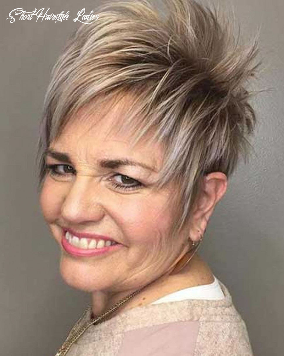 10 simple short hairstyles for older women you should try it