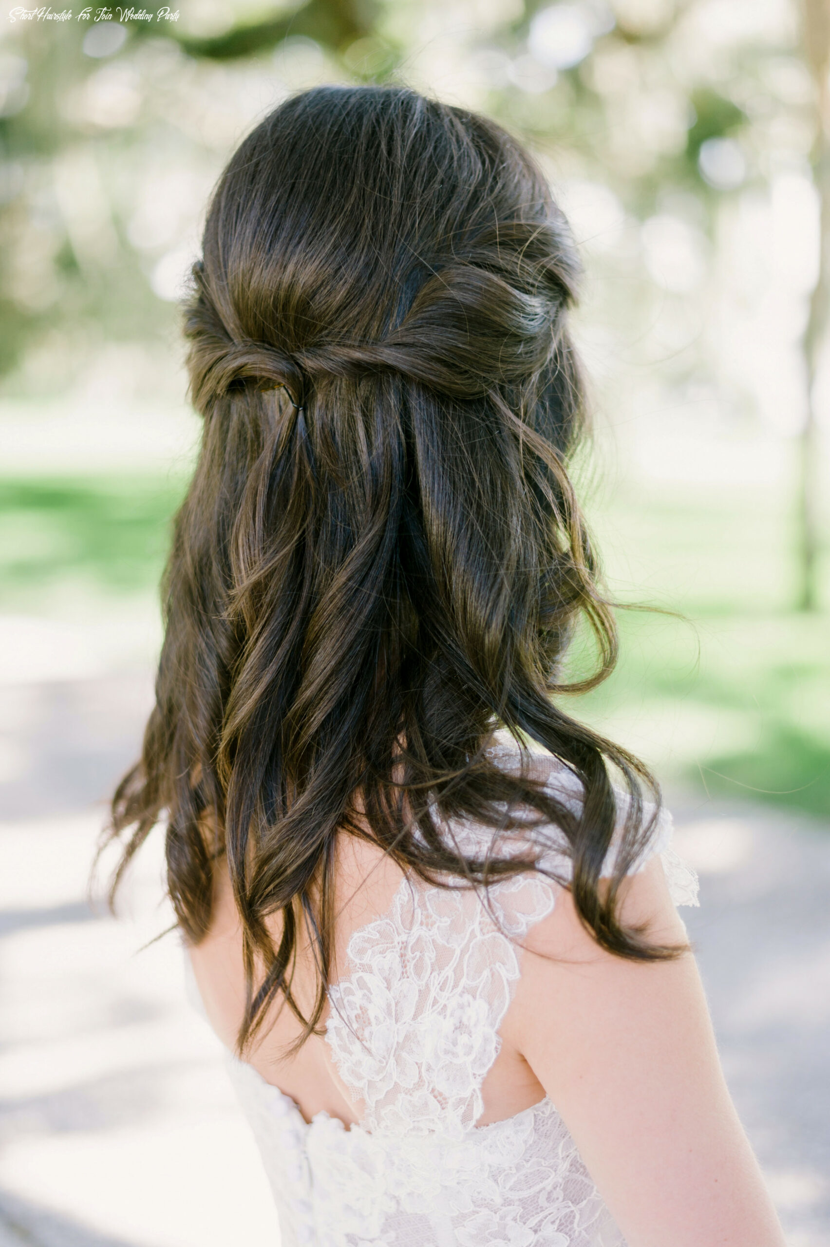 10 simple wedding hairstyles that prove less is more | martha