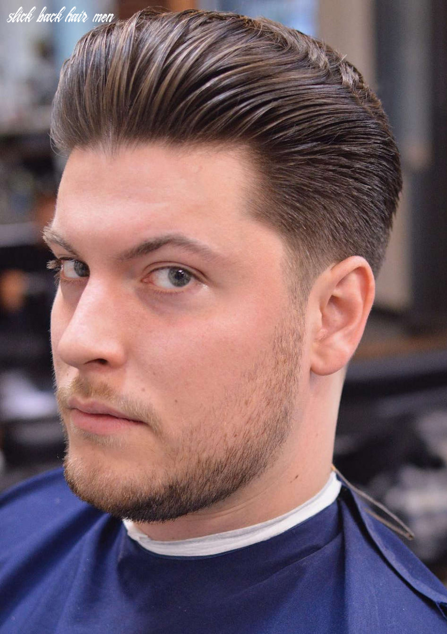 10+ Slicked Back Hairstyles: A Classy Style Made Simple + Guide