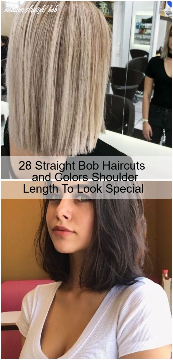 10 straight bob haircuts and colors shoulder length to look