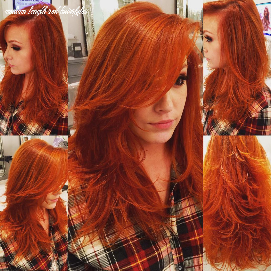 10 stunning new red hairstyles & haircut ideas for 10 redhead