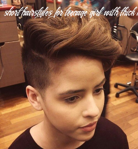 10 stylish hairstyles and haircuts for teenage girls short hairstyles for teenage girl with thick hair
