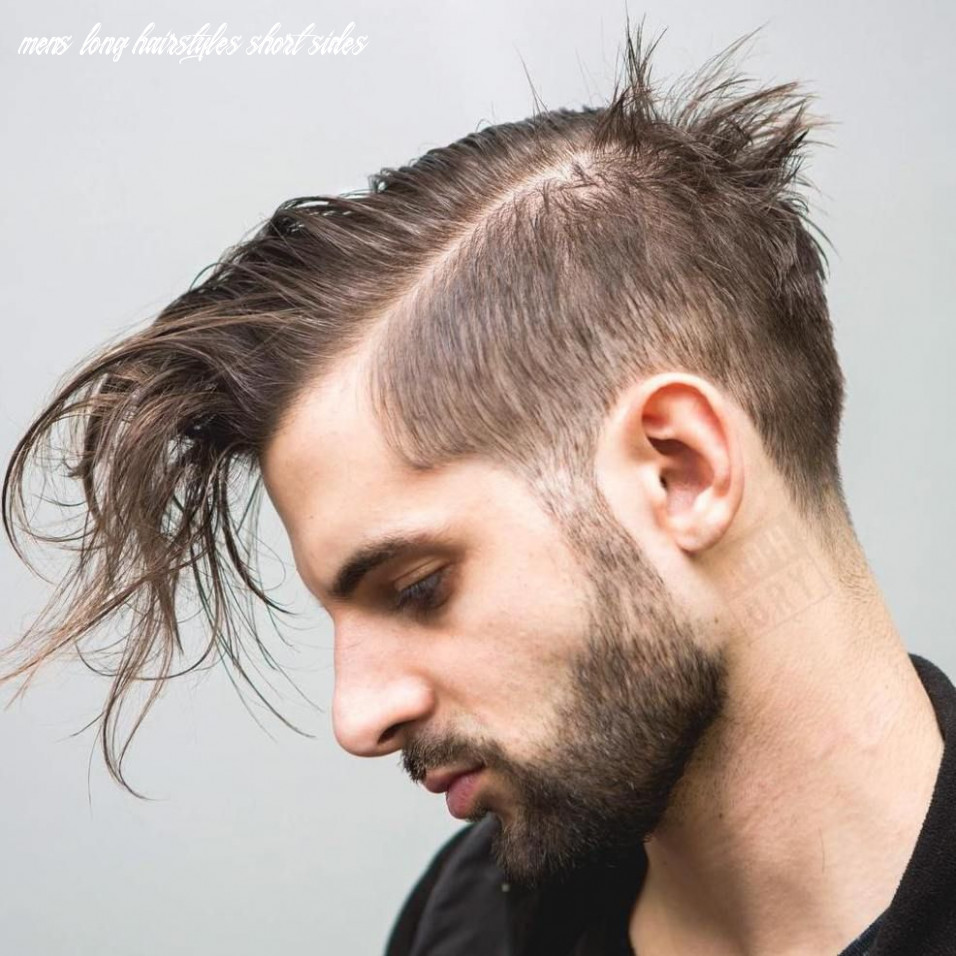 10 stylish hairstyles for men with thin hair | thin hair men, long