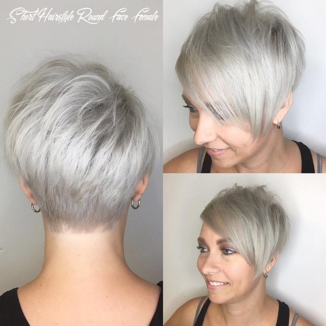 10 super cute looks with short hairstyles for round faces