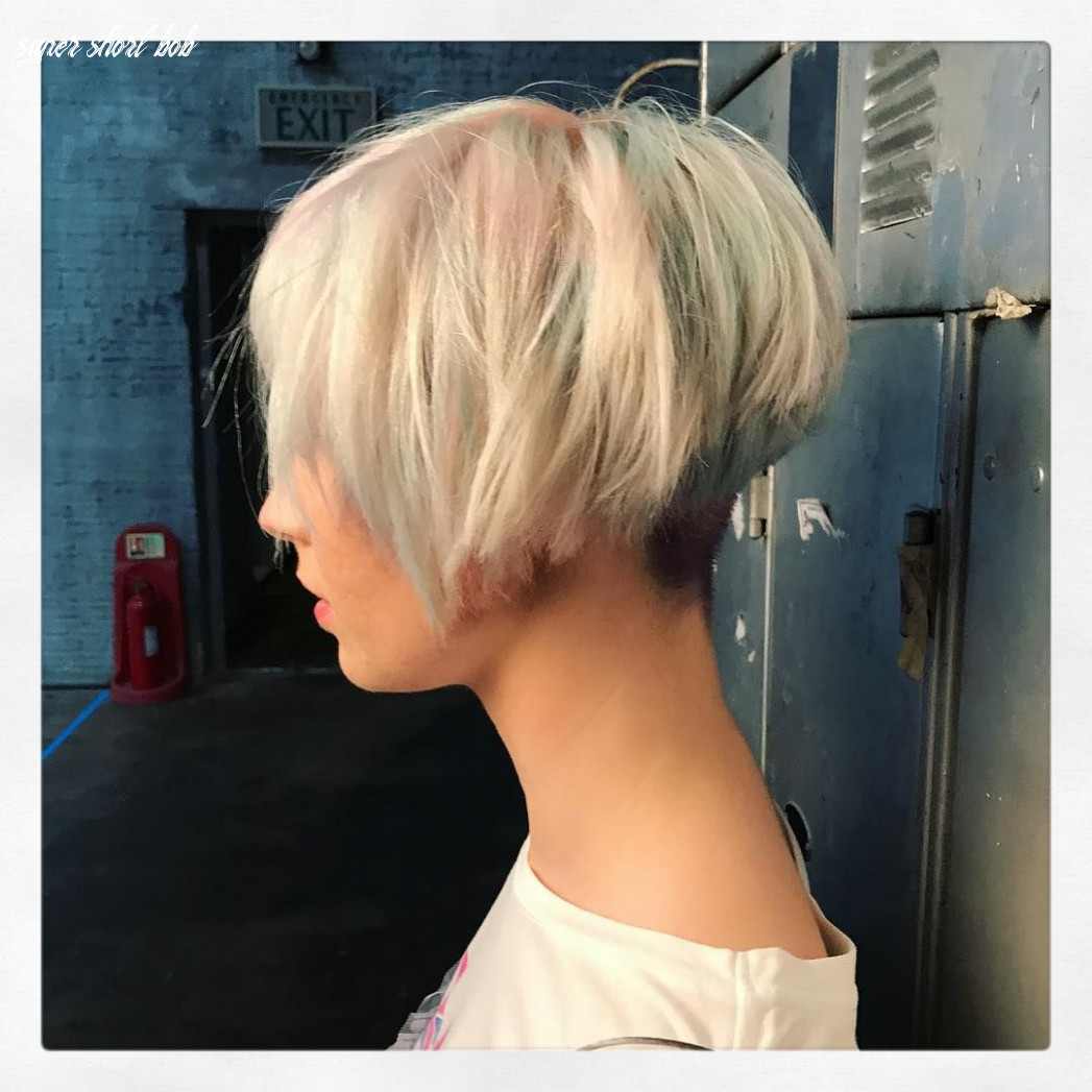 10 super cute short bob hairstyles for women styles weekly super short bob