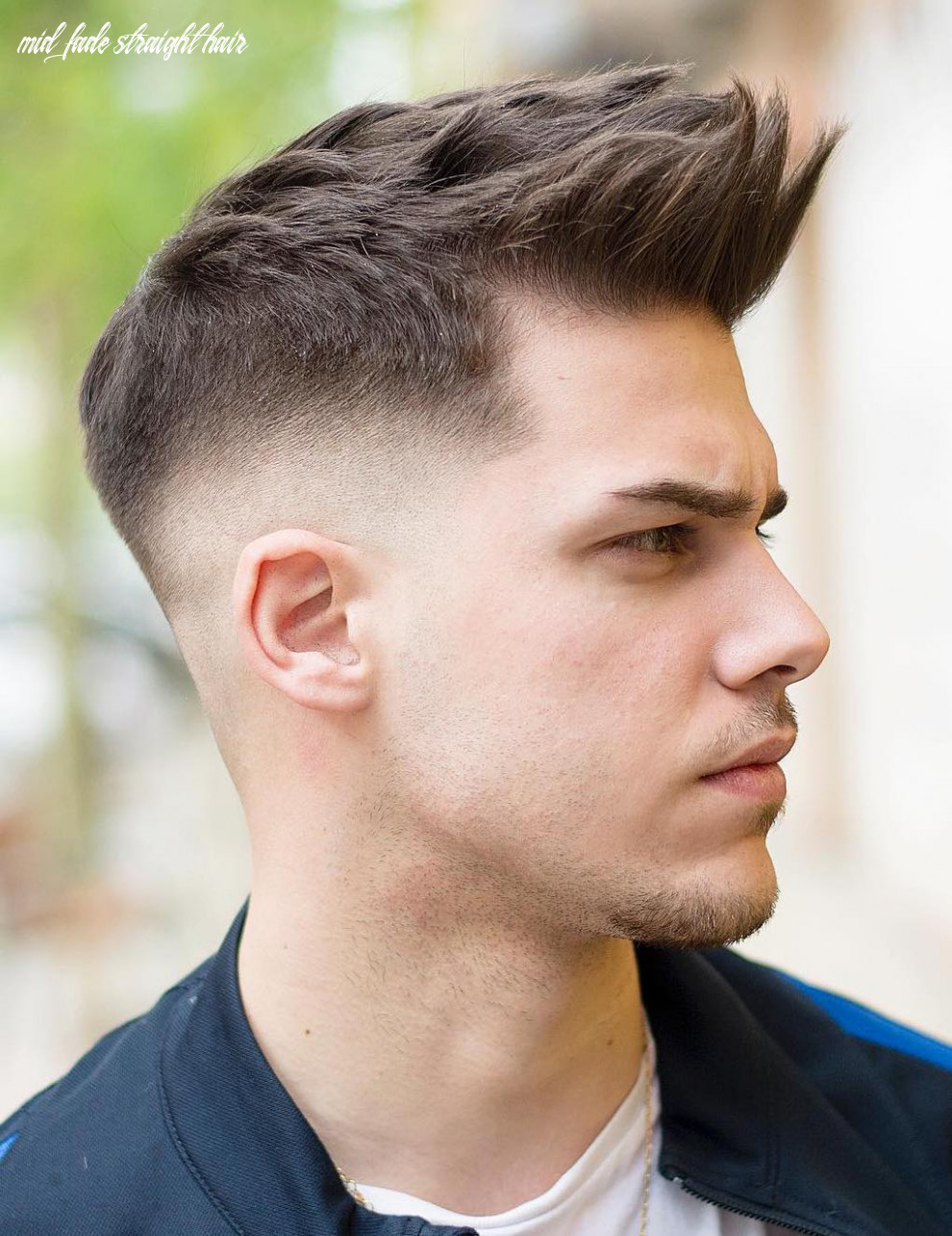 10 The Most Fashionable Mid Fade Haircuts for Men