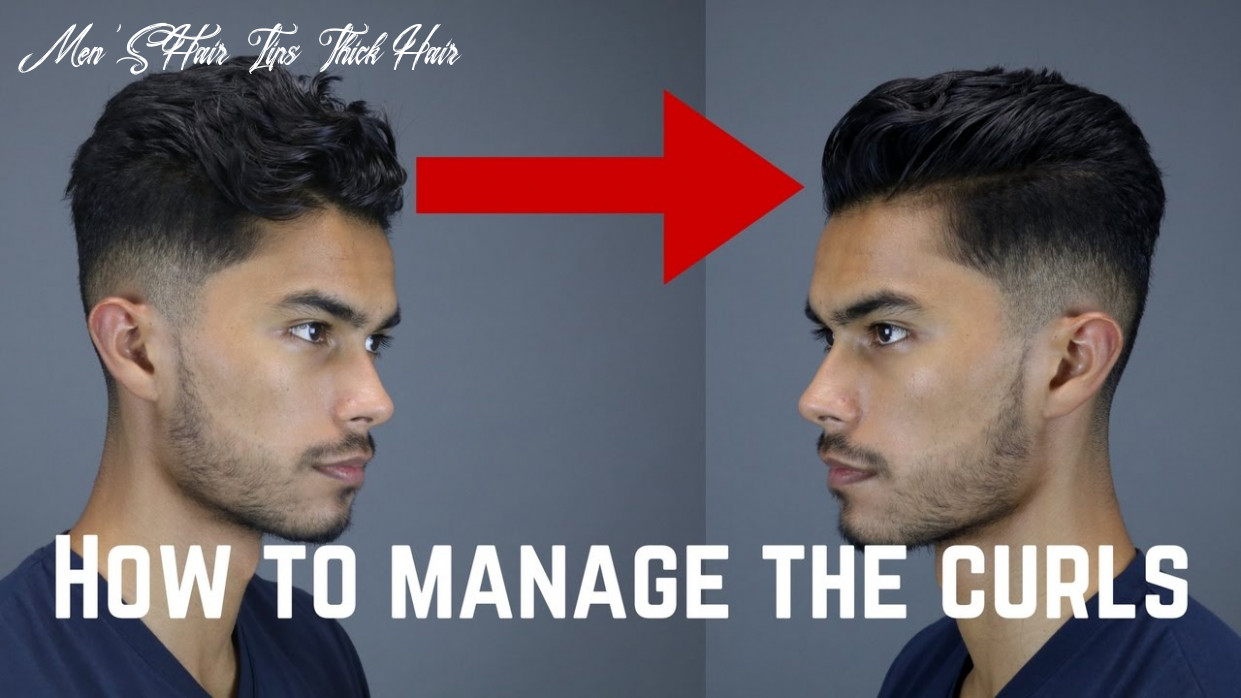 10 Tips & Tricks For Guys With Curly/Wavy/Coarse Hair