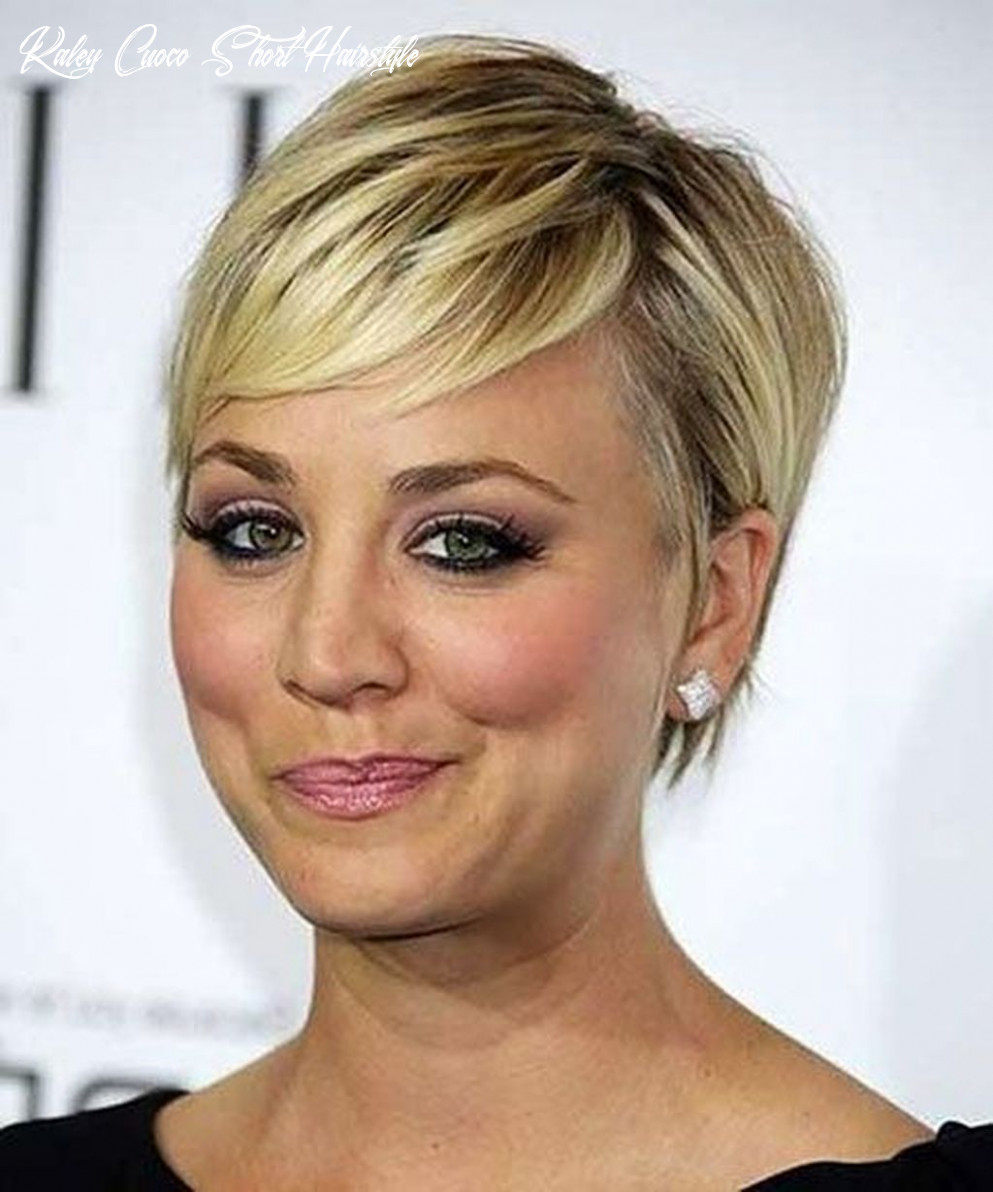 10 top kaley cuoco short hairstyle ideas for your inspirations