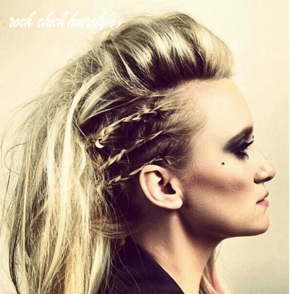 10 top style rock haircut girl rock chick hairstyles