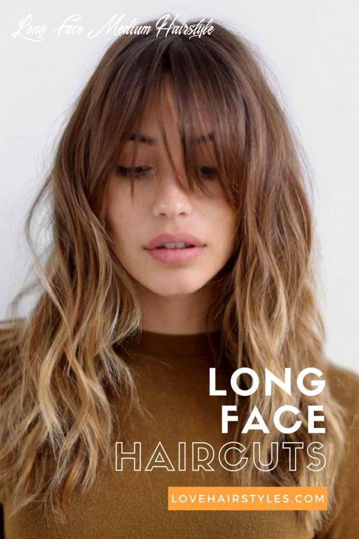 10 trendy hairstyles for long faces in 10 | long face haircuts