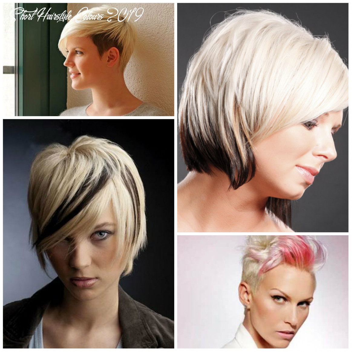 10 two tone hair colors for short haircuts | 10 haircuts