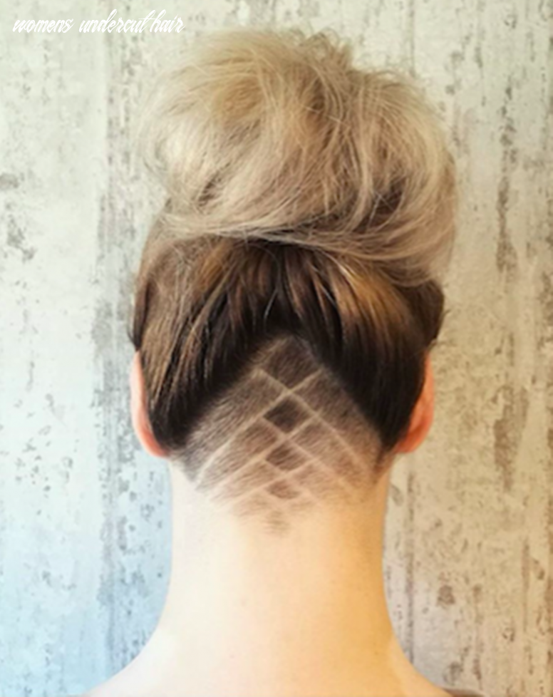 10 undercut hairstyle female options to bring out the rebel in you womens undercut hair