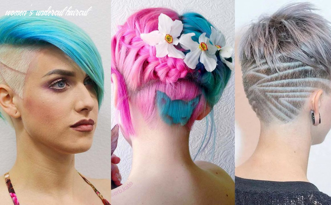 10 Undercut Hairstyles with Hair Tattoos for Women | Fashionisers©