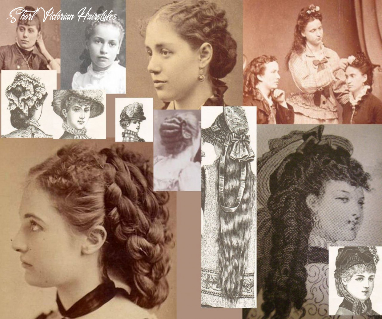 10 victorian hairstyles for short hair unique victorian