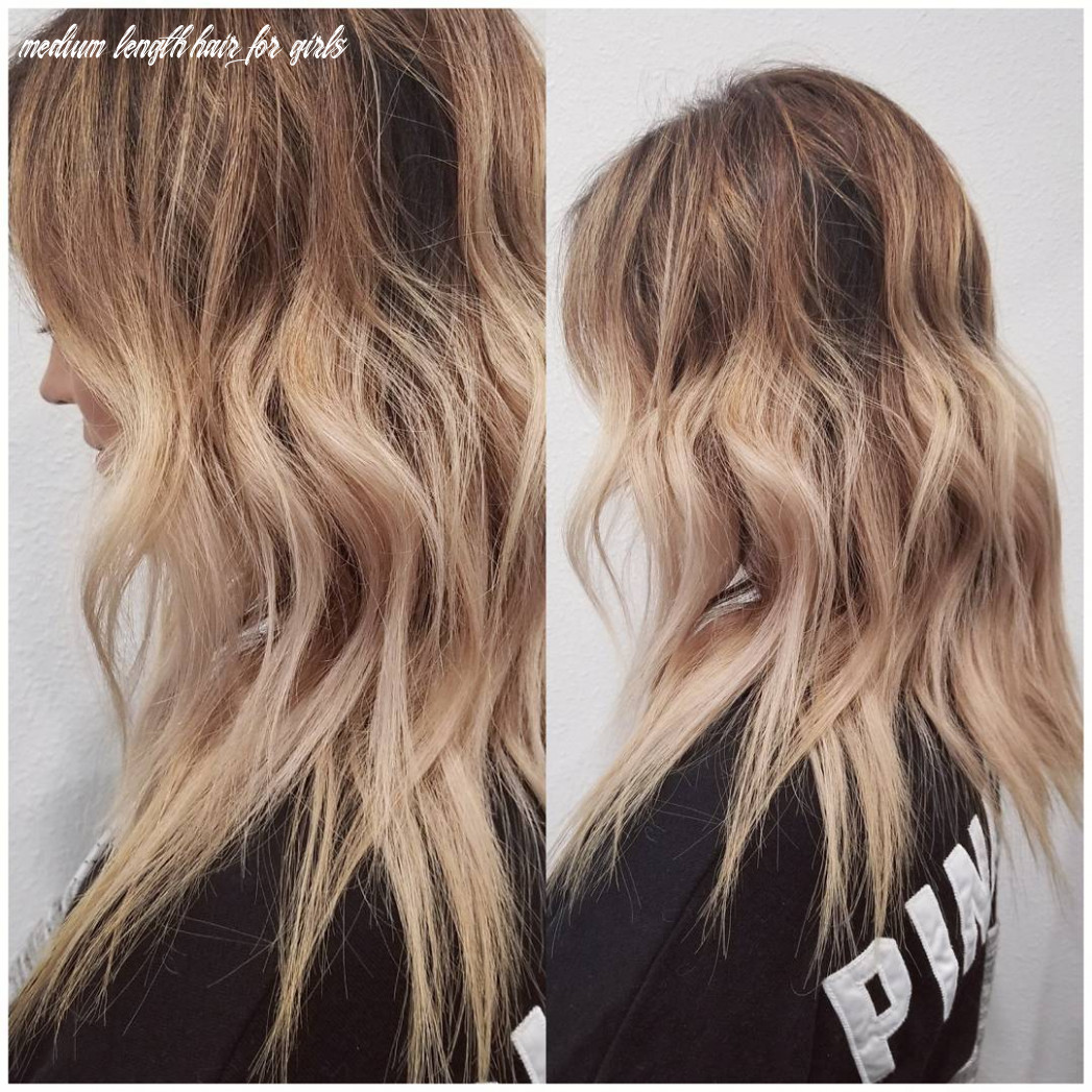 10 wavy shoulder length hairstyles 10 medium length hair for girls