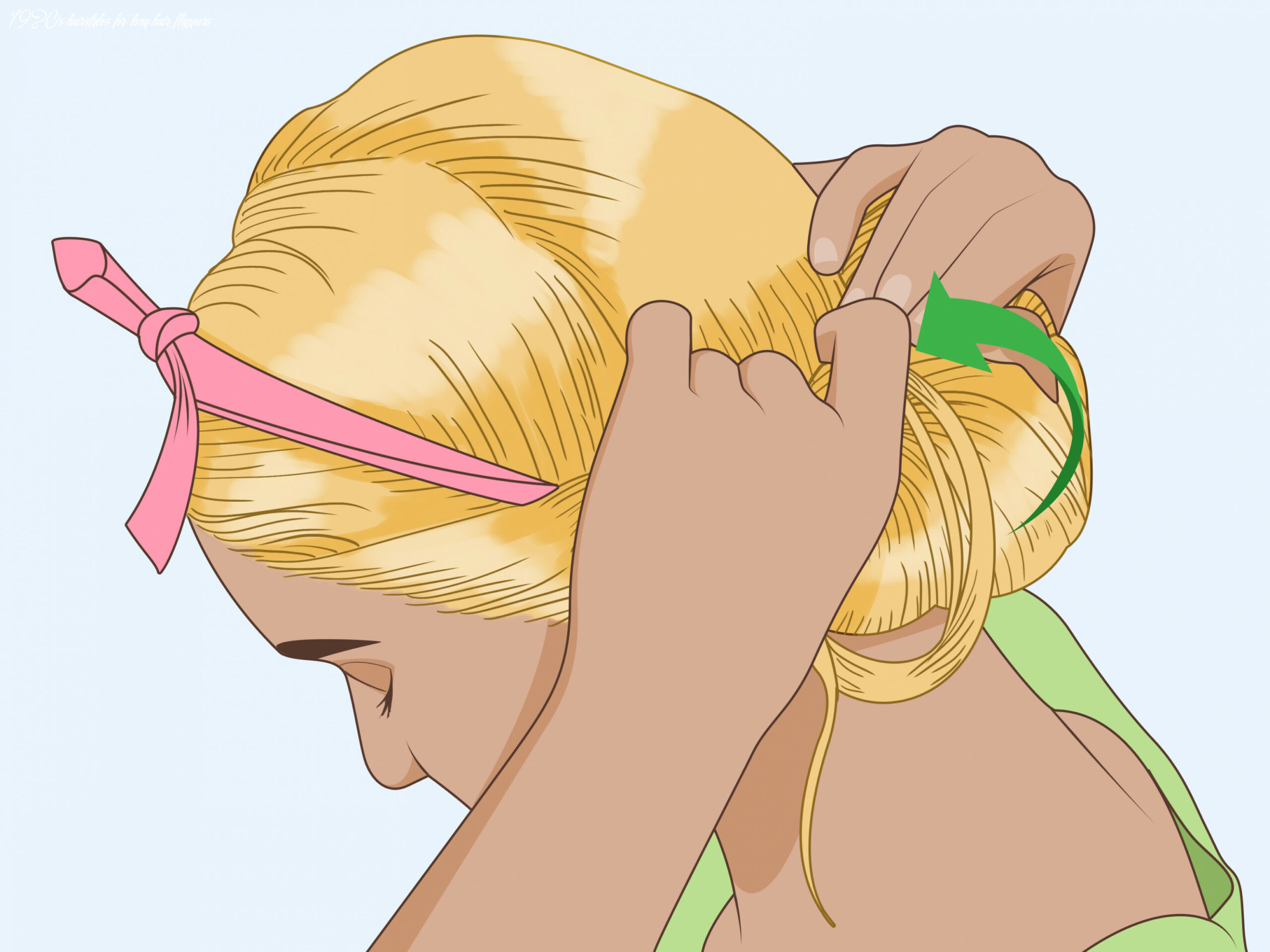 10 ways to do 10s hair wikihow 1920s hairstyles for long hair flappers