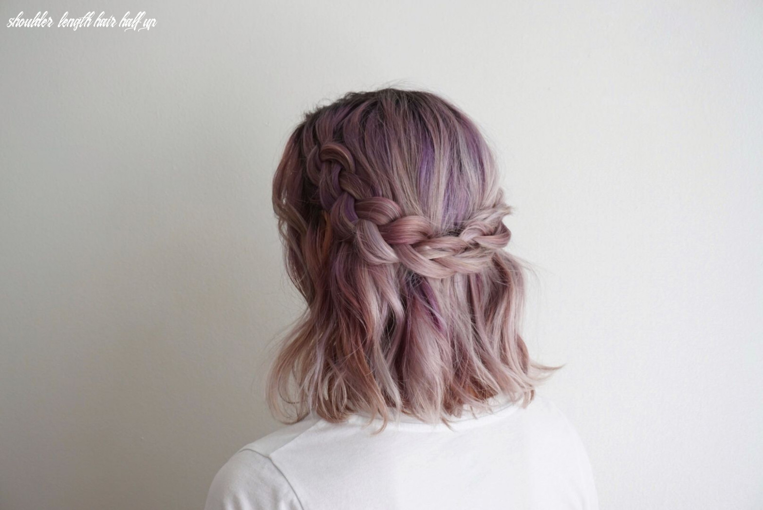 10 ways to wear shoulder length hair | cute hairstyles for short