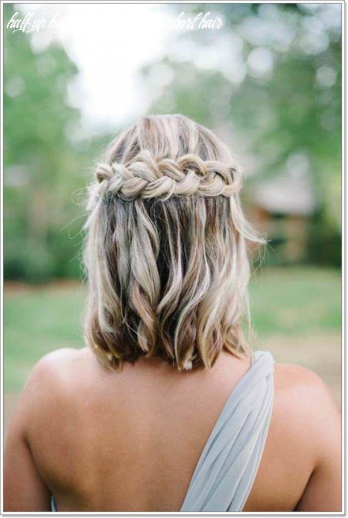 10 whimsical half up half down hairstyles you can wear for all