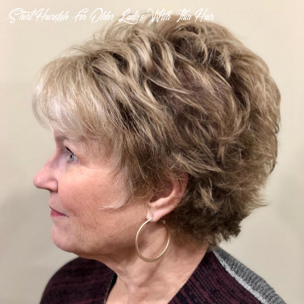 10 wonderful short haircuts for women over 10 hair adviser short hairstyle for older ladies with thin hair