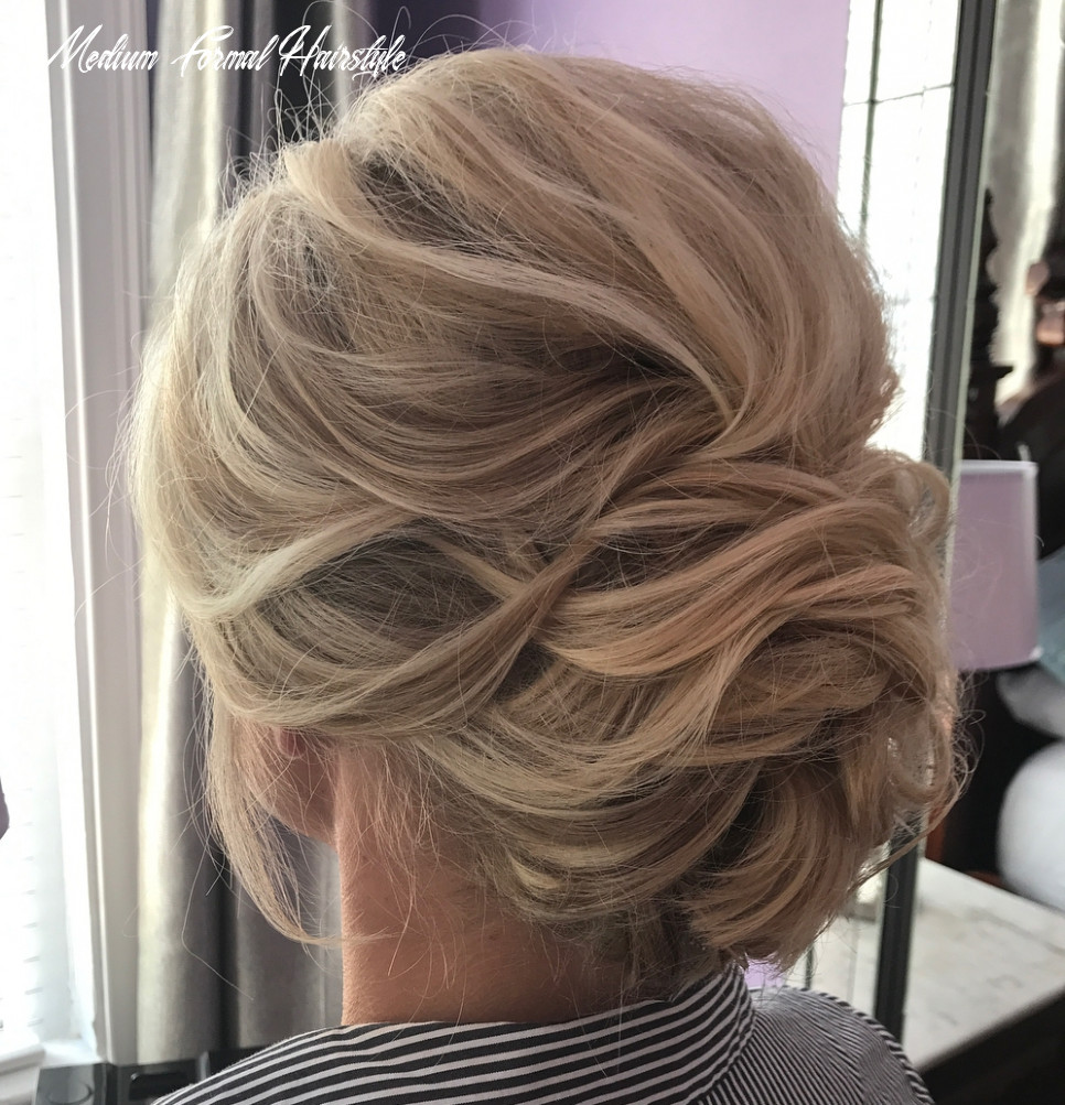 10 Wonderful Updos for Medium Hair to Inspire New Looks - Hair Adviser
