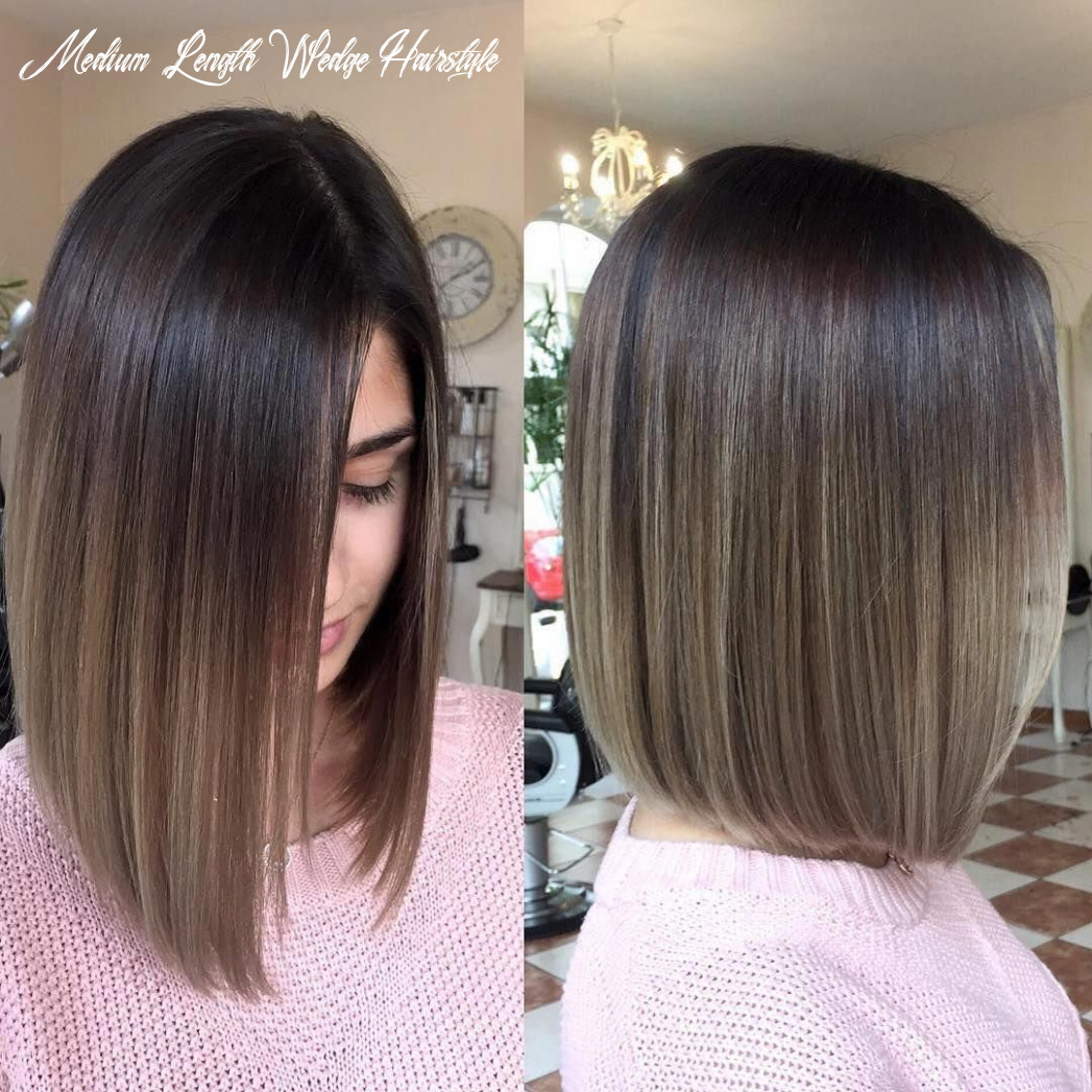 10 wonderful wedge haircuts   ombre hair blonde, brown ombre hair