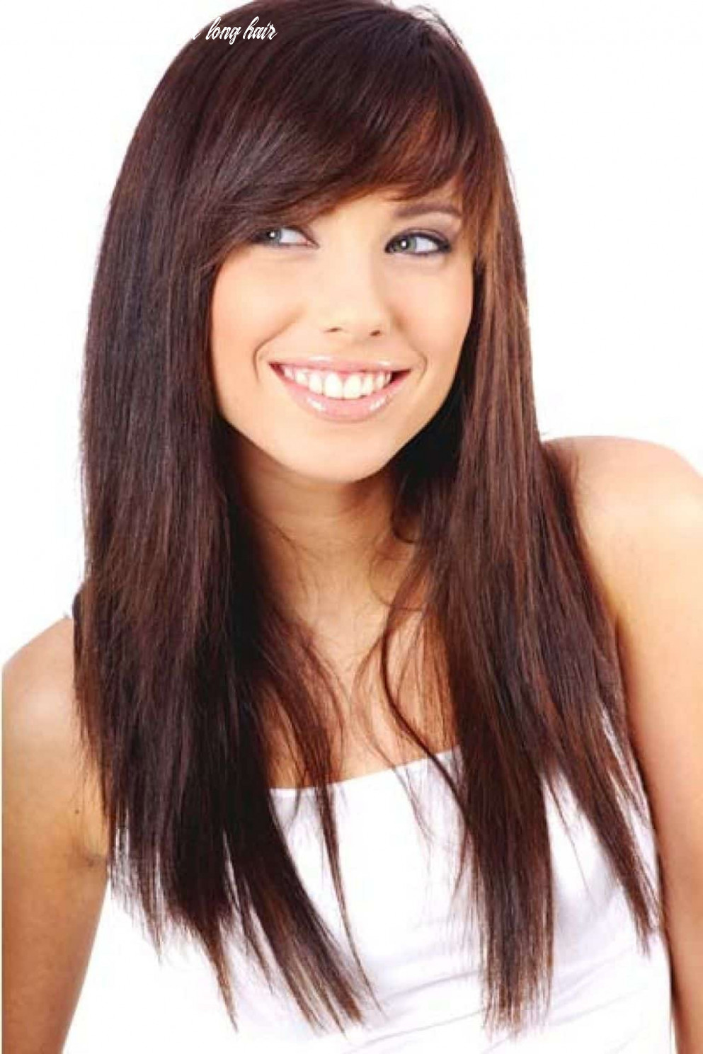 11 alluring side bangs on long hair (11 trends) side fringe hairstyles for long hair