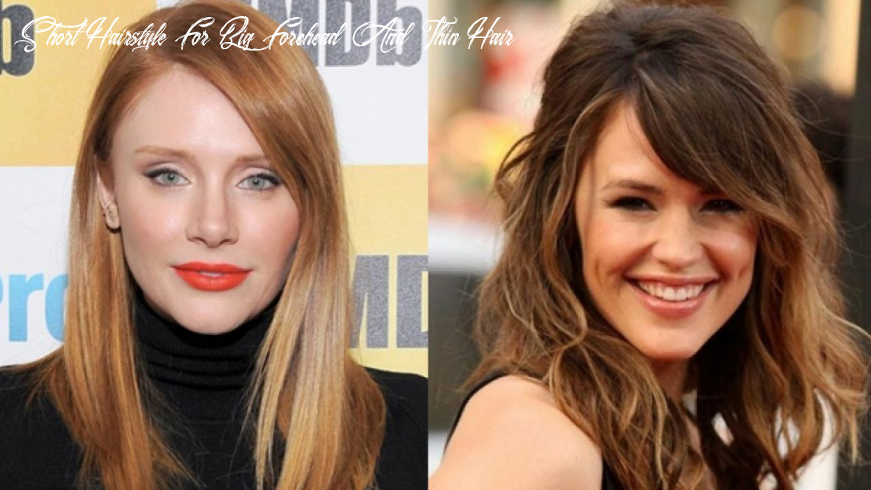 11 Amazing Hairstyles for Big Foreheads - Tip To Hide Large Forehead