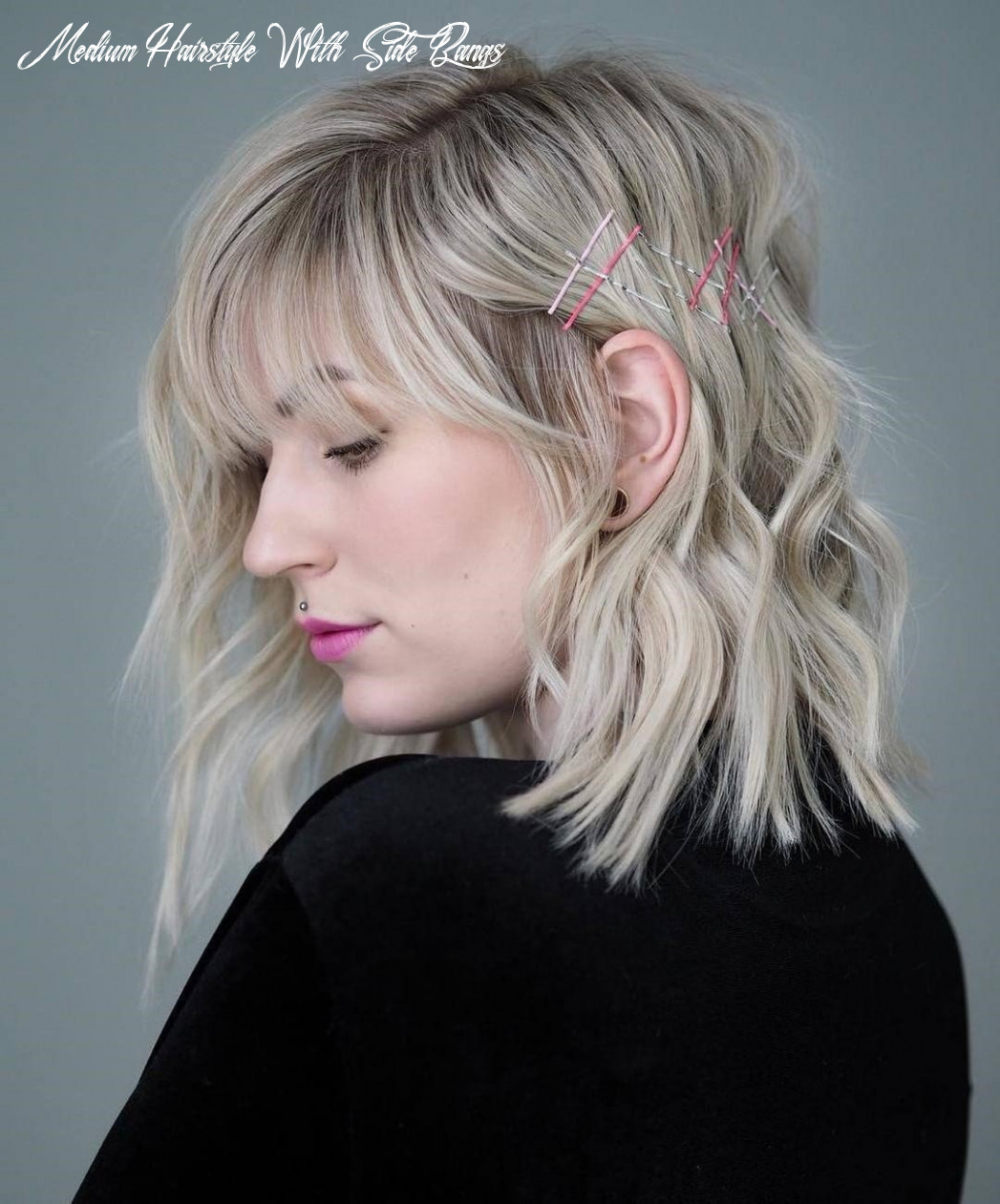 11 amazing medium hairstyles with side bangs in 11 the leader