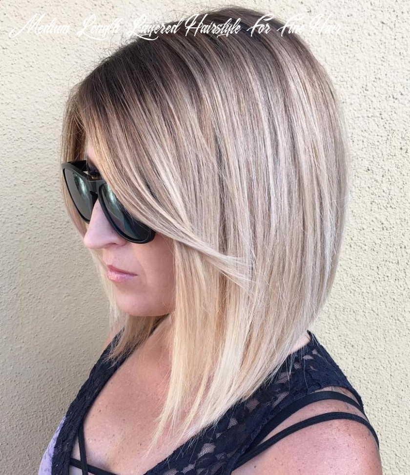 11 Amazing Medium Length Hairstyles & Shoulder Length Haircuts 11