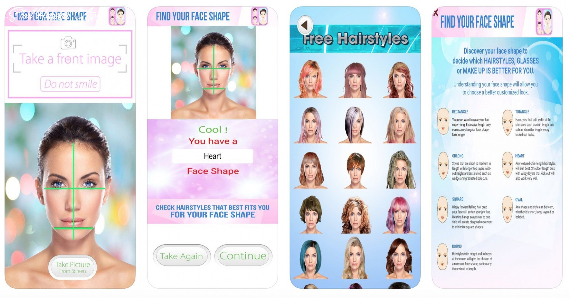 11 apps to know the best hairstyles for your face shape short hairstyle app