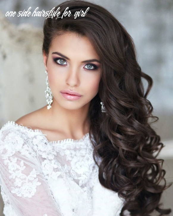 11 attractive party hairstyles for girls one side hairstyle for girl