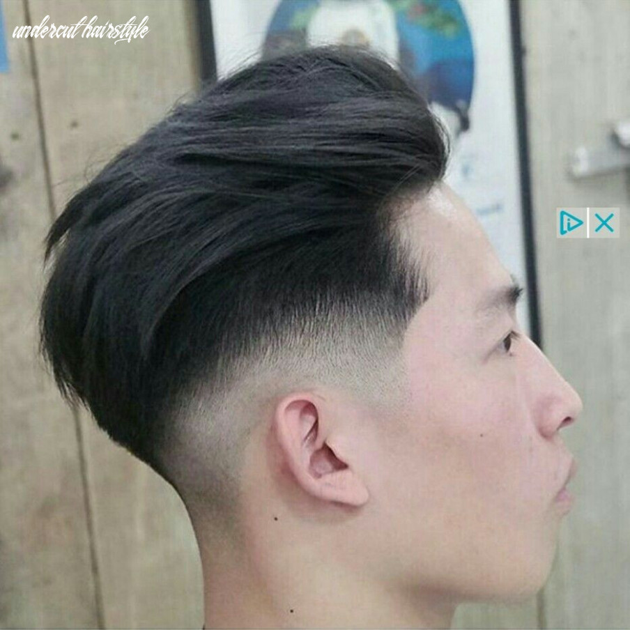 11 Awesome asian Undercut Hairstyle