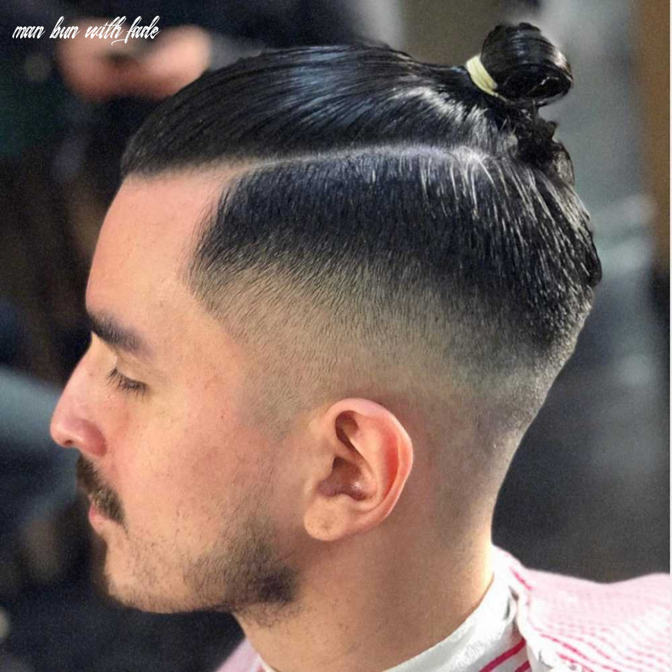 11 awesome man bun hairstyles with a fade – latest haircuts for men man bun with fade