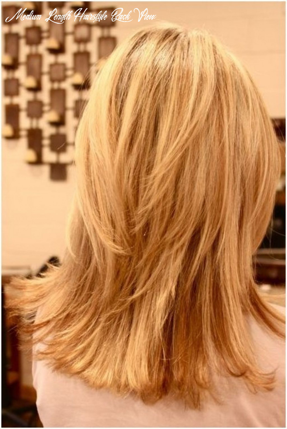 11 awesome medium length layered haircut back view images   thin