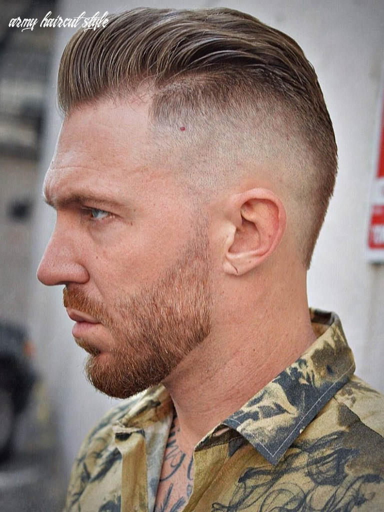 11 awesome military haircuts for men army haircut style