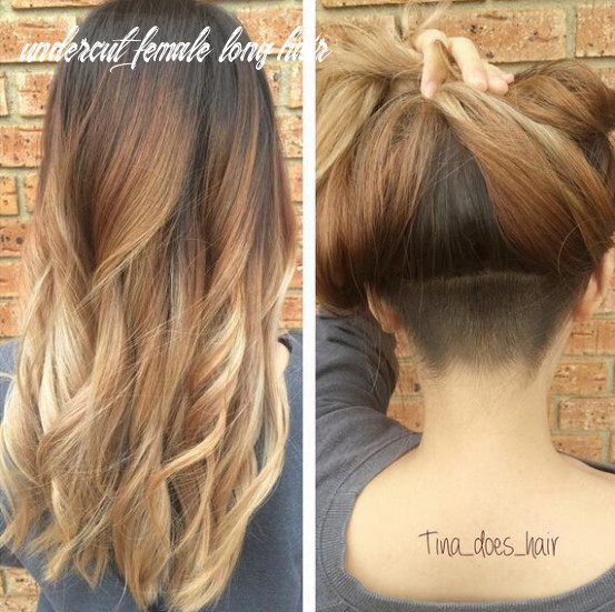 11 awesome undercut hairstyles for girls   undercut long hair