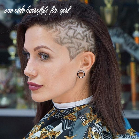 11 awesome undercut hairstyles for women [july 11] one side hairstyle for girl