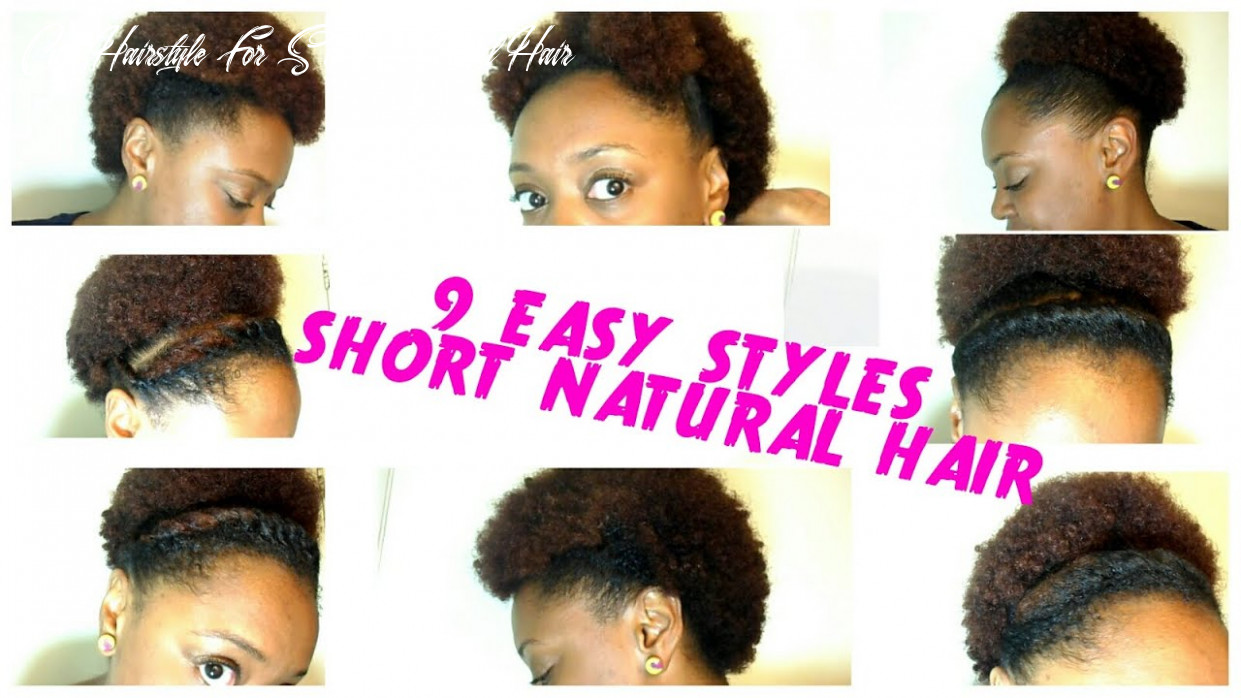 11 back to school hairstyles for short natural hair   quick and easy! the curly closet cute hairstyle for short natural hair