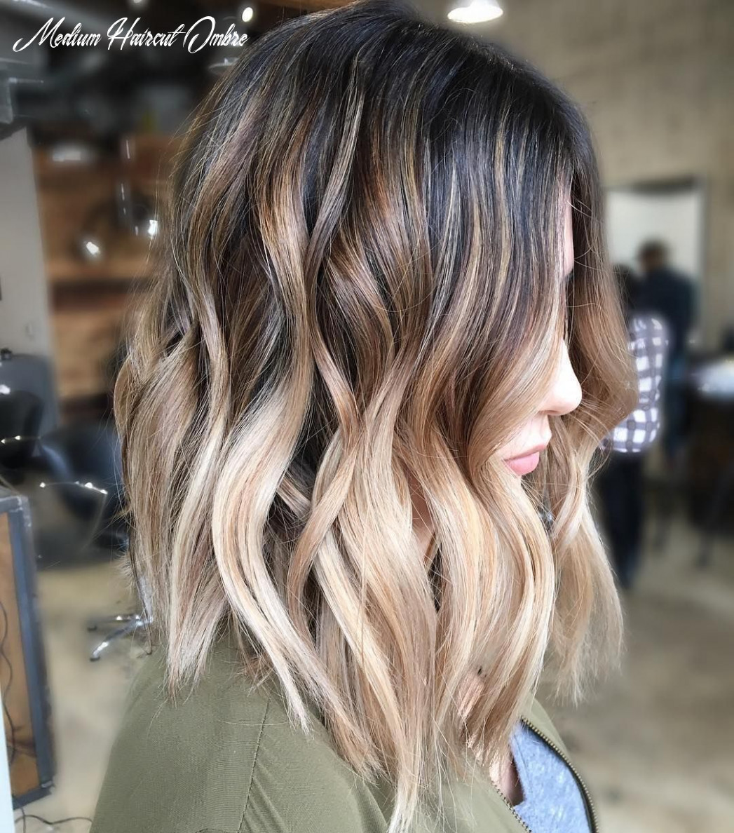11 balayage ombre hair styles for shoulder length hair, women