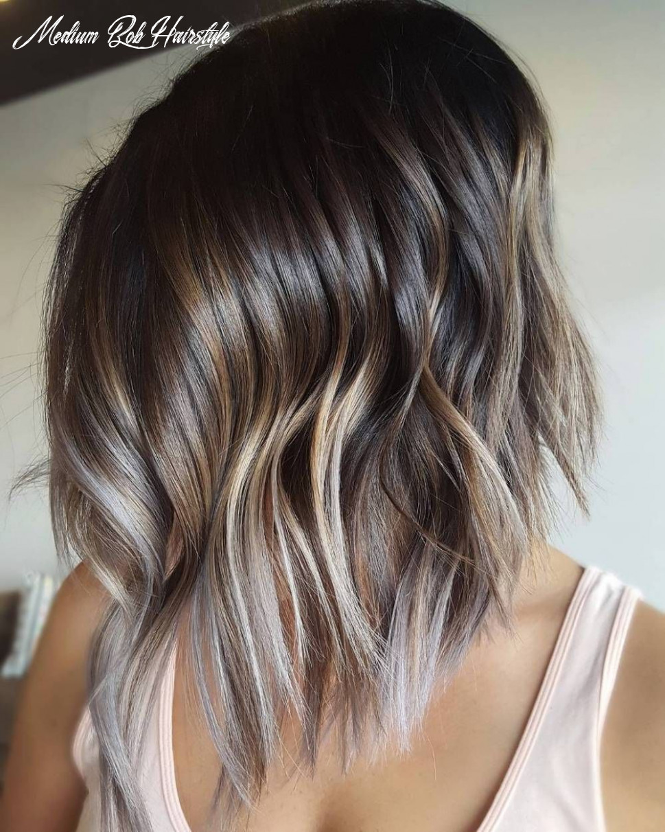 11 Beautiful and Convenient Medium Bob Hairstyles | Haar styling ...