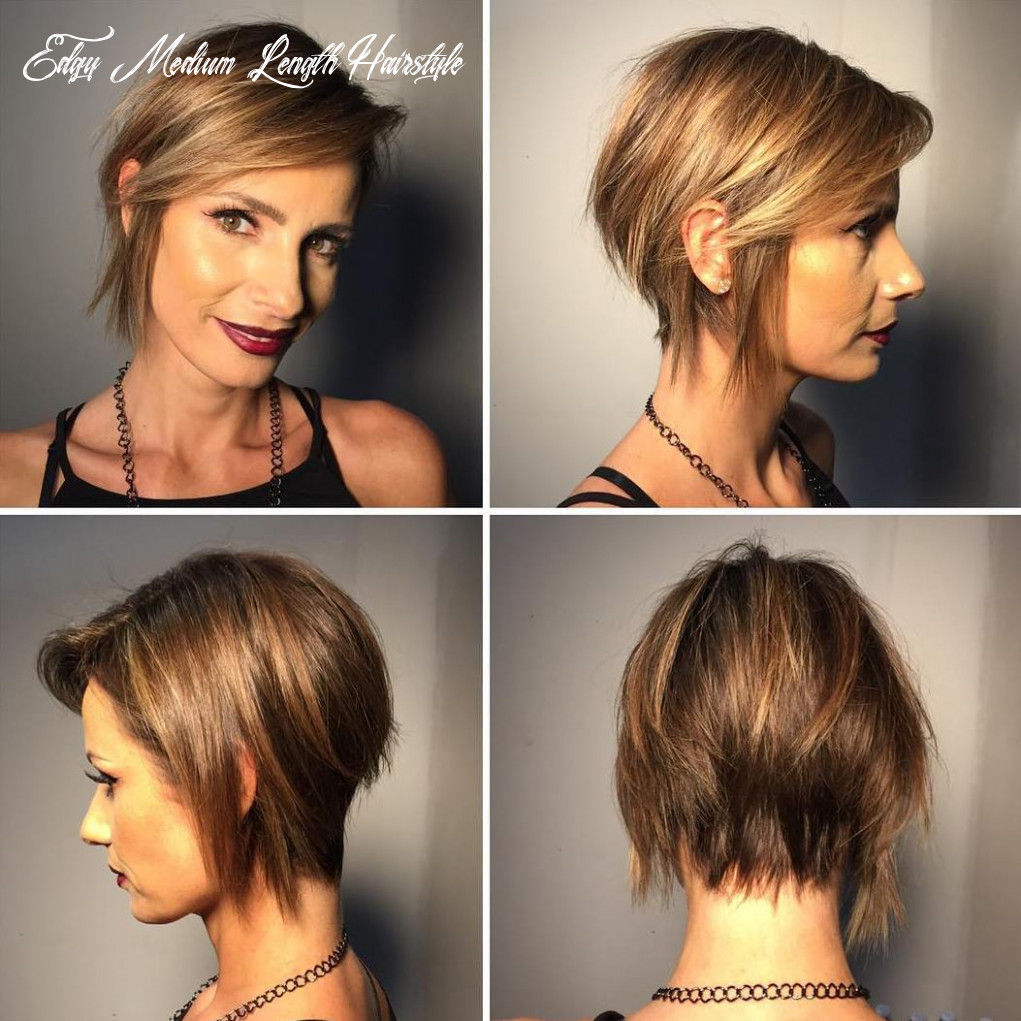11 best edgy haircuts ideas to upgrade your usual styles edgy medium length hairstyle