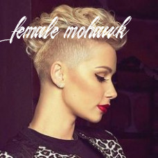 11 best female mohawk images | short hair styles, cool hairstyles