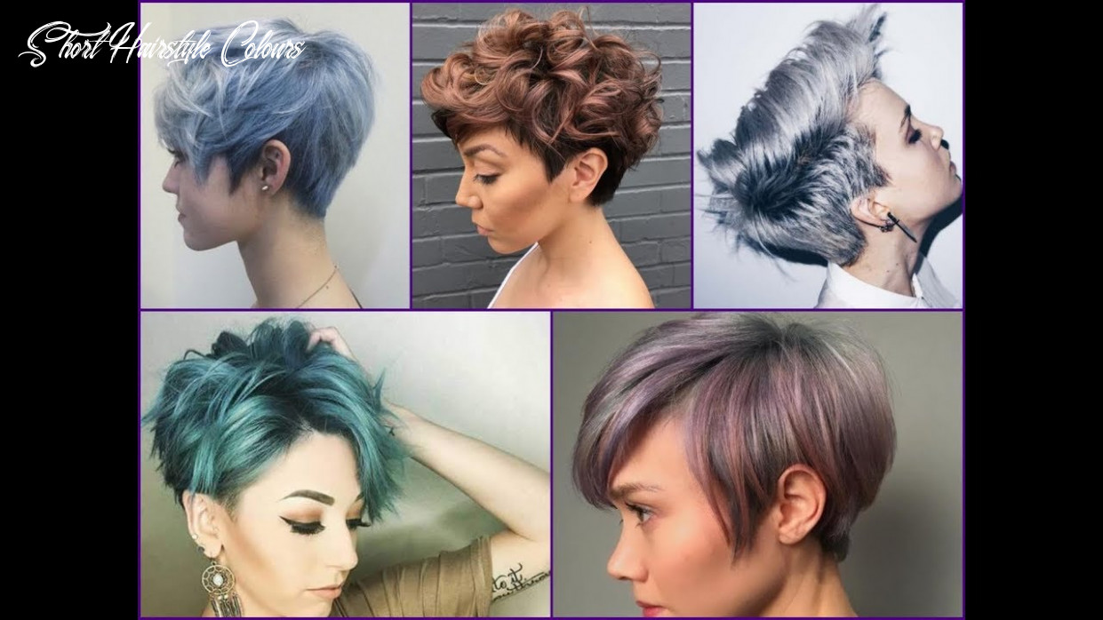 11 best hair color ideas for pixie cut and short hair short hairstyle colours