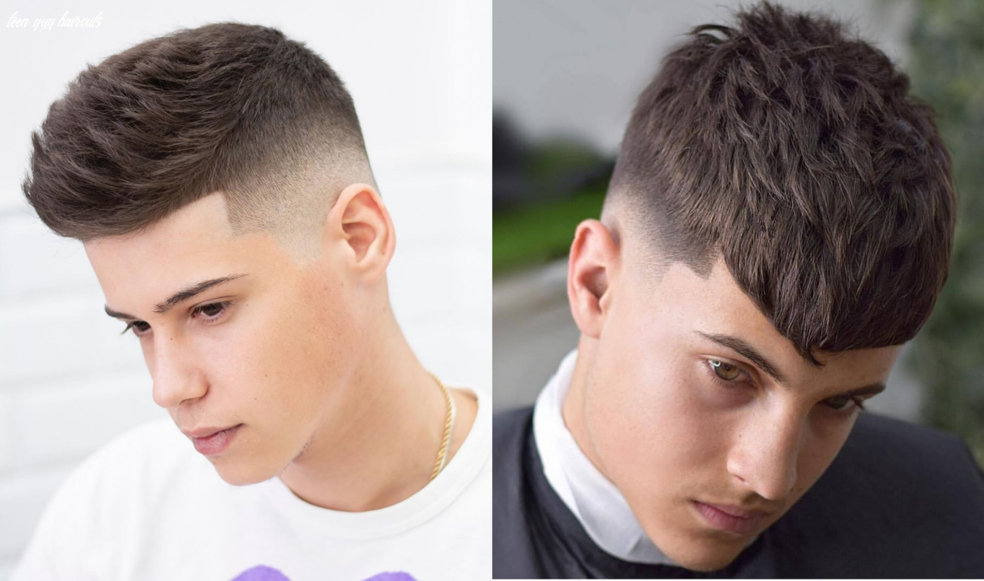 11 best haircuts for teenage guys (11 trends) | stylesrant teen guy haircuts