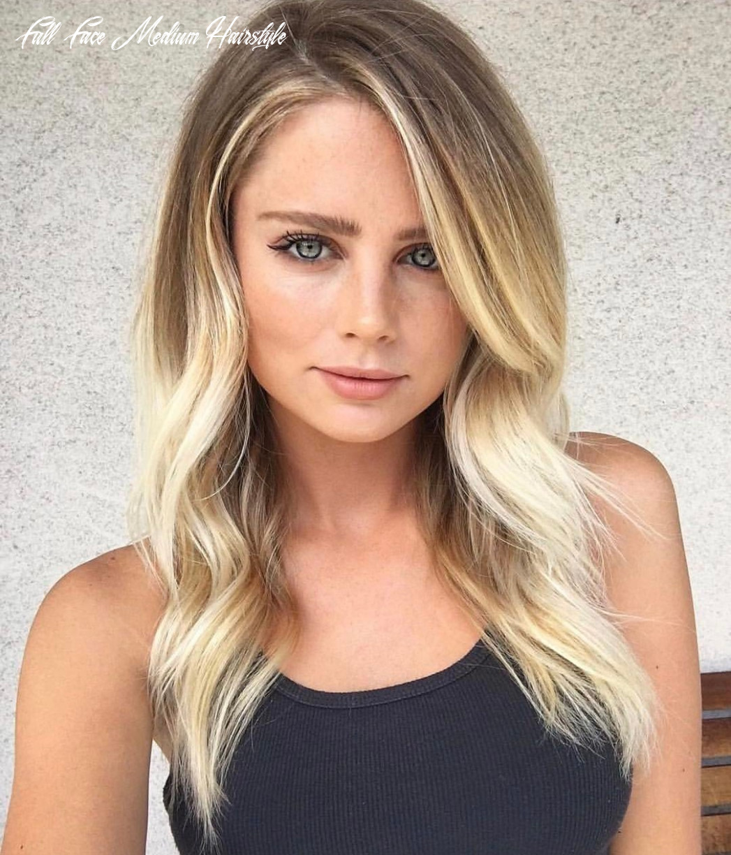 11 best hairstyles for square faces rounding the angles full face medium hairstyle
