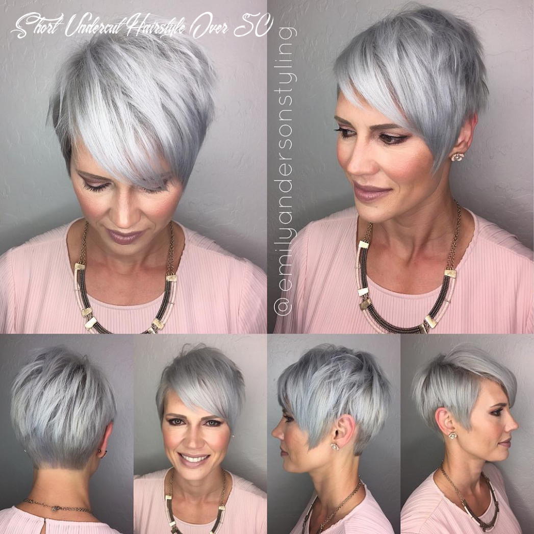 11 best hairstyles for women over 11 for 11 hair adviser short undercut hairstyle over 50