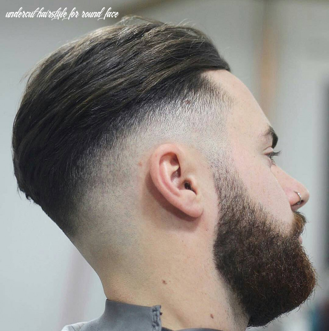11 best male haircuts for round faces [be unique in 11] undercut hairstyle for round face