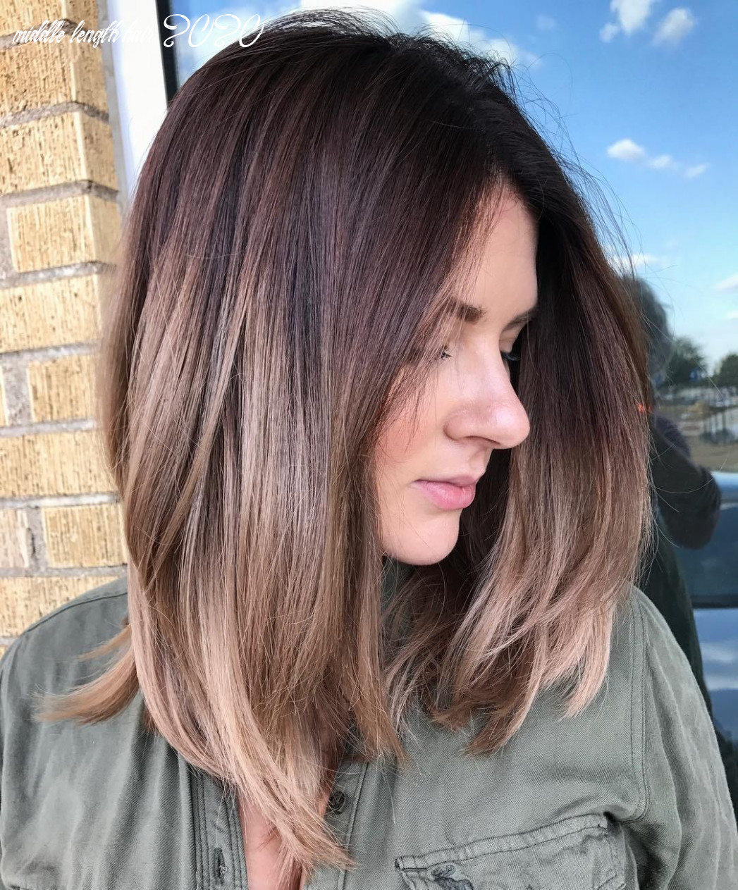 11 best medium length hairstyles for 11 hair adviser middle length hair 2020